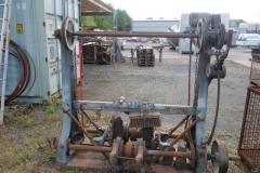 dishwasher on wooden barrels € 2400,-