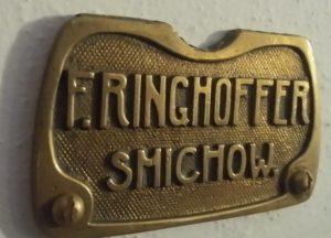 F. Ringhoffer Smíchow