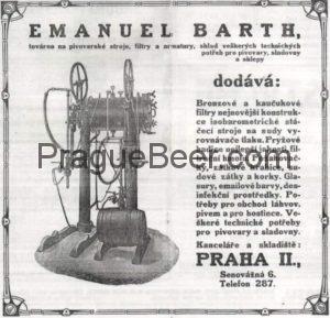 Isobarometrický stáčecí stroj na sudy firma Emanual Barth