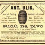 Antonín Ulík, bednář