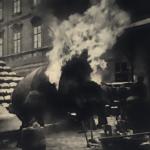 Neštěstí při požahování sudů v akciovém pivovaře v Plzni