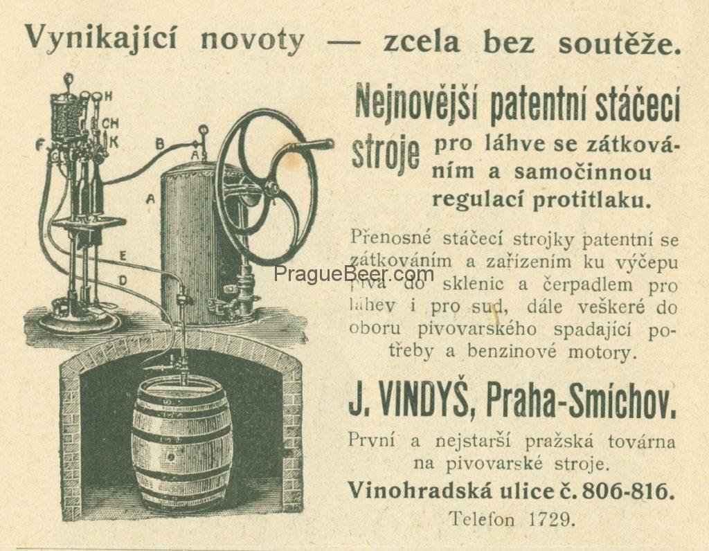 J. Vindyš, Praha-Smichov