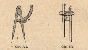 Bednařské kružidlo a rejsek