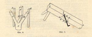 Bednářský kozlík a bednářský hoblík střihovačka (macek)
