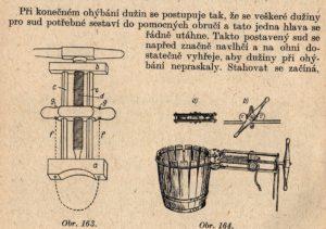 Bednářský šroub - stahovák dřevěný a stahovák kladkový