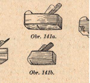 Nádobkář je vypouklý bednářský hoblík na hoblování vnitřních stěn již postavených nádob