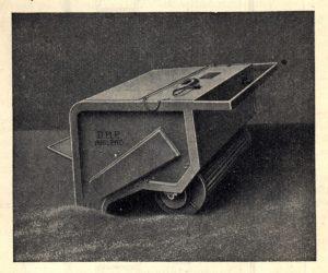 Obraceč zeleného sladu firmy K. Lutz Mnichov